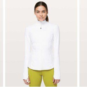 Lululemon Define Jacket *Nulux White Size 8